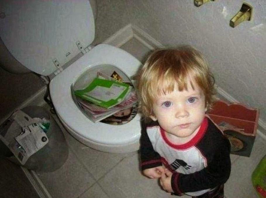 Όταν τα παιδιά ξεφεύγουν της προσοχής μας στο σπίτι (pics) 3