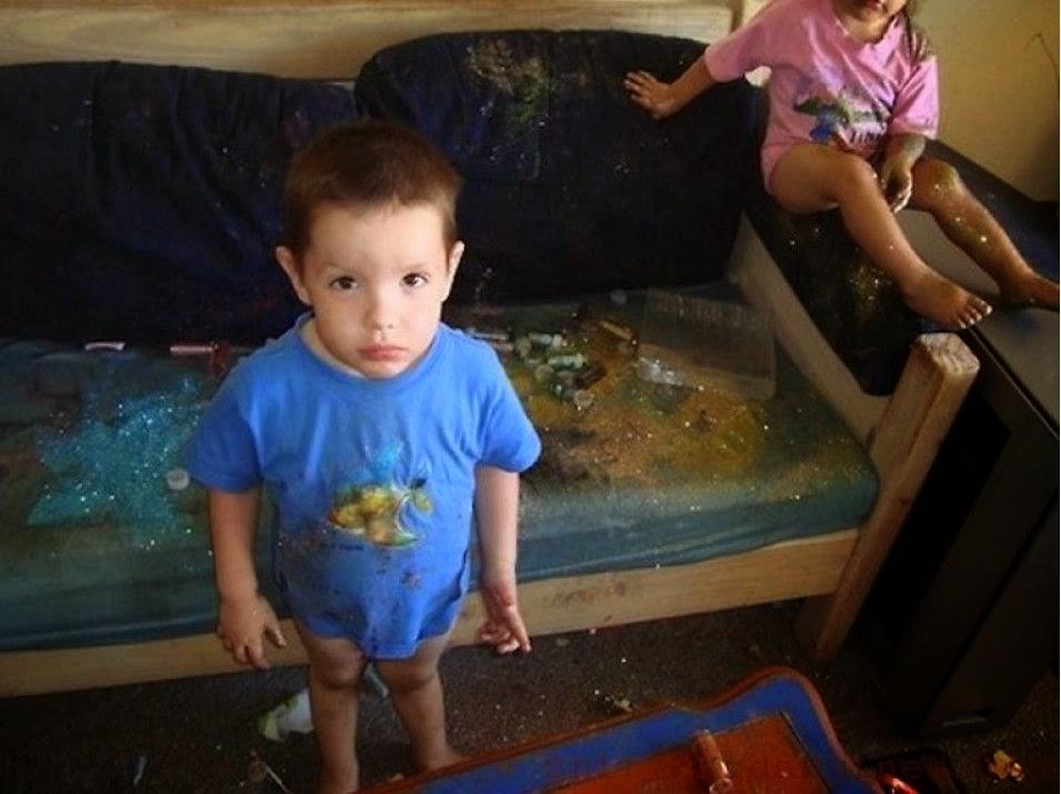 Όταν τα παιδιά ξεφεύγουν της προσοχής μας στο σπίτι (pics) 7
